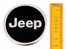 JEEP * 4 Pezzi * Alluminio ø60mm ADESIVO EMBLEMA Cerchioni Adesivo COPRI RUOTA