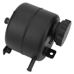 Black Aluminum Coolant Expansion Tank Overflow Reservoir With Cap  Mini Cooper S