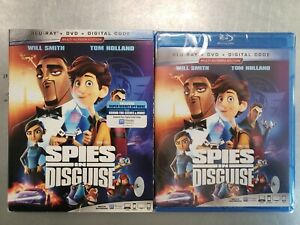 NEW-espias-en-Disfraz-Blu-ray-Dvd-Digital-Con-Slipcover