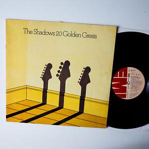 The-Shadows-20-Golden-Greats-GER-1977-LP-Vinyl-vg