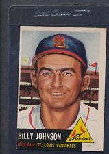 1953 Topps #021 Billy Johnson Cardinals VG/EX *880