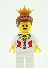 LEGO Queen / Princess Minifigure with Gold Tiarra NEW Female Girl