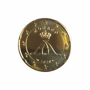 Original 10 EURO - Cent Münze Monaco 2020 - nur 7.000 Stück