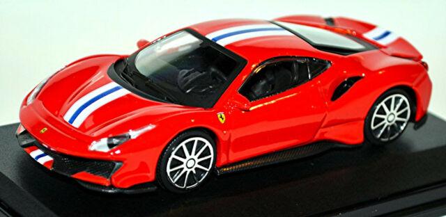 Ferrari 488 Pista Coupe 2018 Rot Red 1 43 Bburago Pc Box Show Chase Ebay
