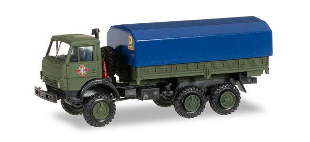 Herpa Minitanks kamaz 5320 programar-camión streikräfte rusa 745284