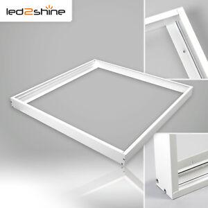 Fabulous LED Panel Rahmen 60x60 cm Aufputz für Decke Gehäuse Aluminium ZI67