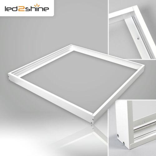 DEL Panneau Cadre 60x60 cm tenue d/'apparat pour plafond Boîtier en aluminium Montage Cadre