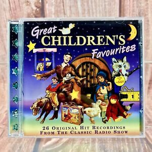 Great-Children-039-s-Favourites-Various-Artists-Kids-Songs-Music-Cd-26-Original-hits