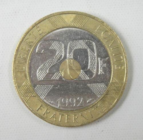 FRANCE 20 Francs Coin 1992