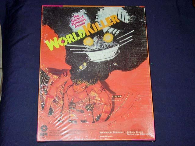 SPI  2980 1975 - WORLD KILLER game - The Game of Planetary Assault (SEALED)