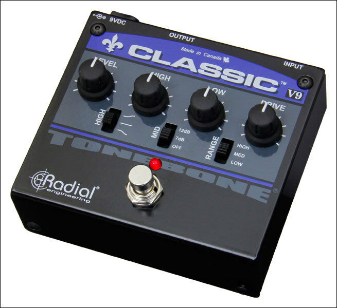 RADIAL Classic V9 distortion pedal