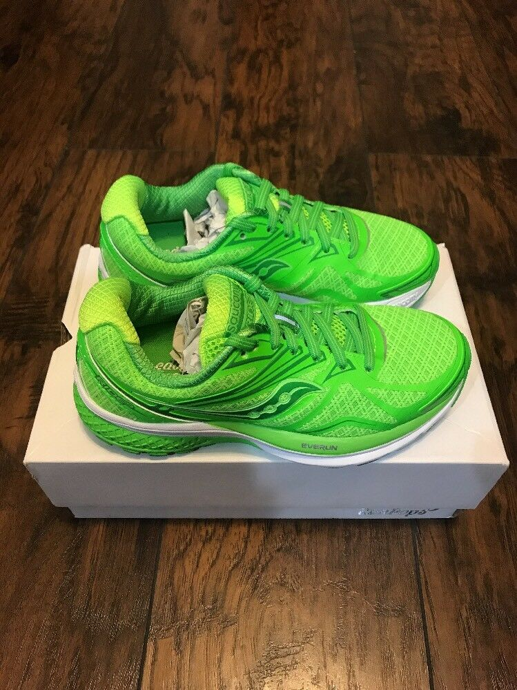 Saucony Run Pops Women's Running shoes Size US 5 Lime Green S10334-1 New in Box