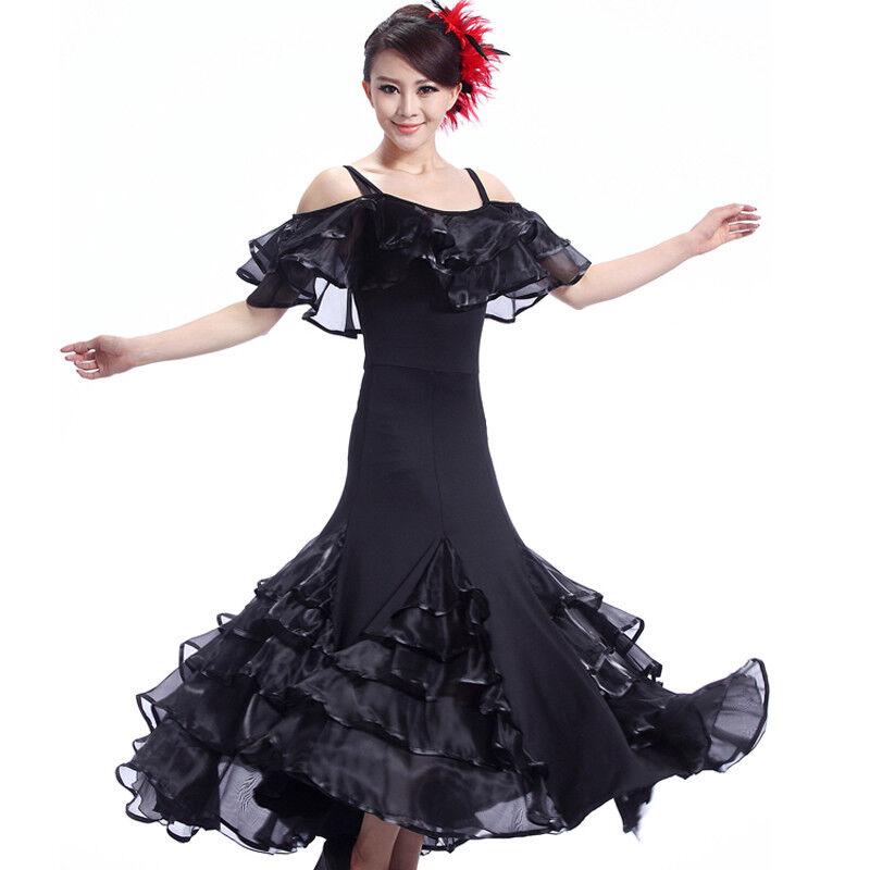 NEU Latino salsa Kleid TanzKleid Standard LatinaKleid Latein Turnierkleid NN004