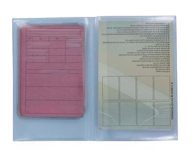 lot 2//5//10//25//50  Porte passeport etui housse protection couverture 2 volets