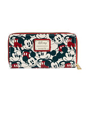 Minnie Mouse Navy Sequin Wallet Loungefly Disney Cruise Line SEALED PACKAGE