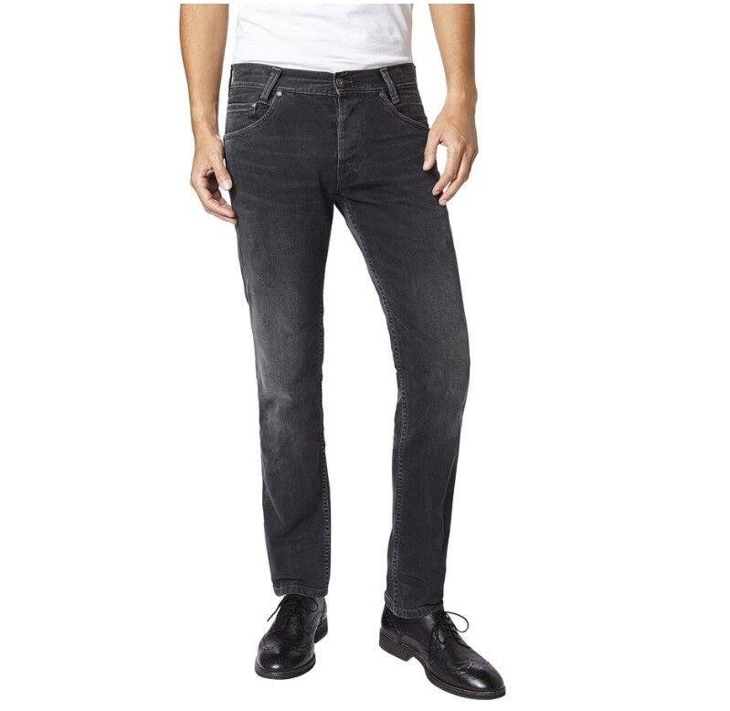PEPE PEPE PEPE Jeans Spike nero USED JEANS UOMO 05d973