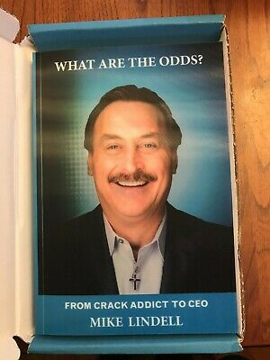 Nib What Are The Odds Mike Lindell Prison Version Paperback Book My Pillow Ceo 9781734283419 Ebay