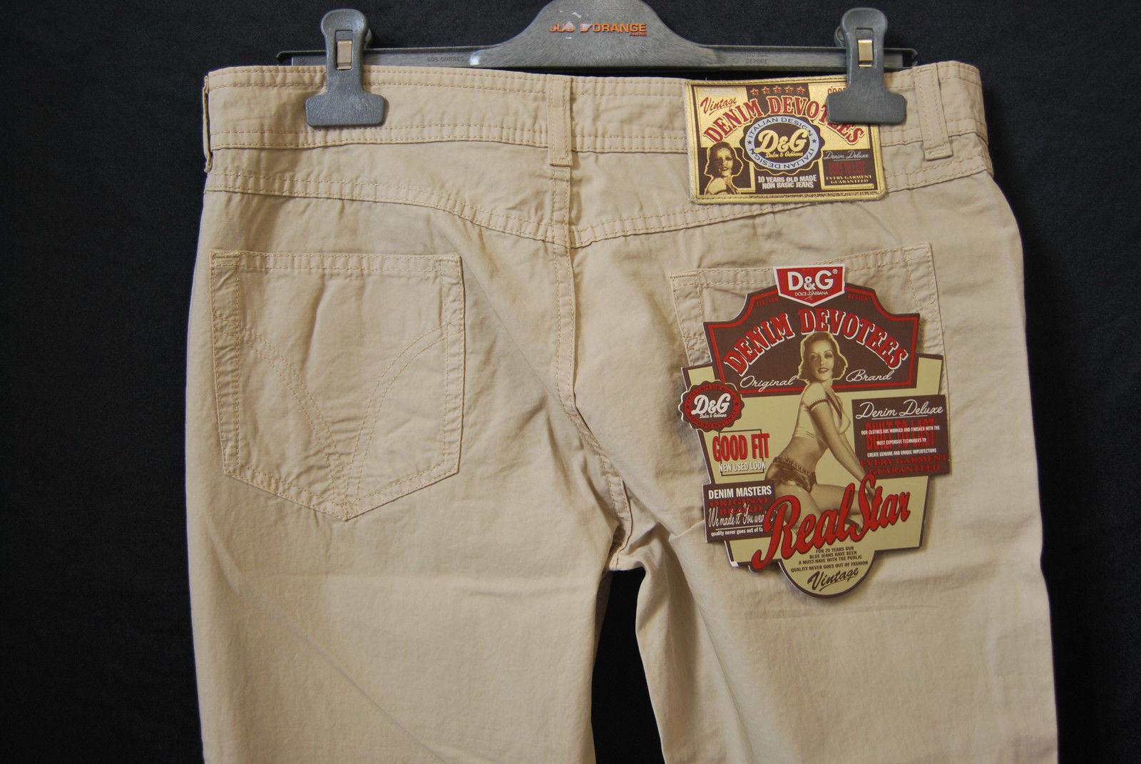 DOLCE&GABBANA Hose NEU Gr. 38 W31  Original Original Original EDEL Vintage Style 199 - D-1537 63ebbd