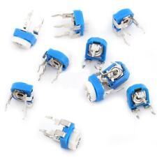 100pcs Values Potentiometer Variable Resistor Assortment Kit Box 500ohm1m