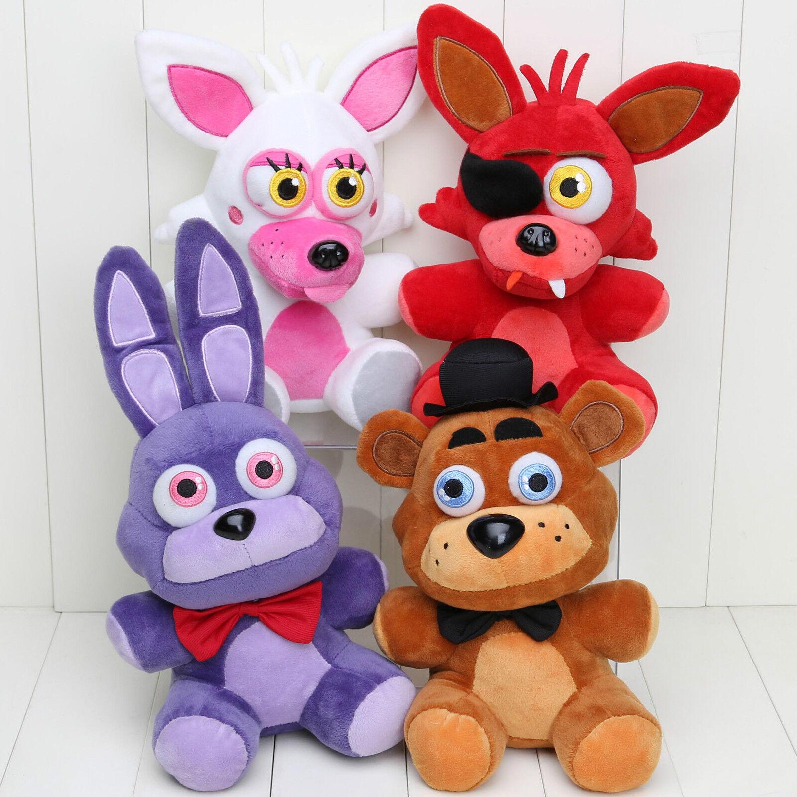 At freddy s 4 fnaf horror game plush dolls kids plushie toys 7 quot ebay