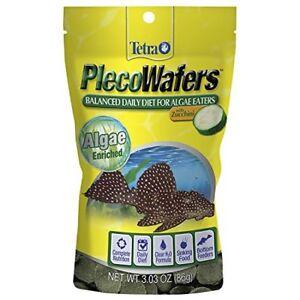 TETRA-VEGGIE-PLECO-WAFERS-3-OZ-FISH-FOOD-FOR-ALGAE-EATERS-FREE-SHIP-TO-THE-USA
