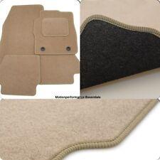 Perfect Fit Beige Carpet Car Mats for Alfa Romeo 156 97-06 - Thick Heel Pad