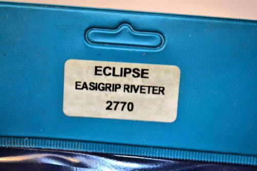 "NEW Eclipse UK Industrial EASIGRIP RIVETER Rivet Sizes 1//8/"",5//32/"",3//16/"" #2770"