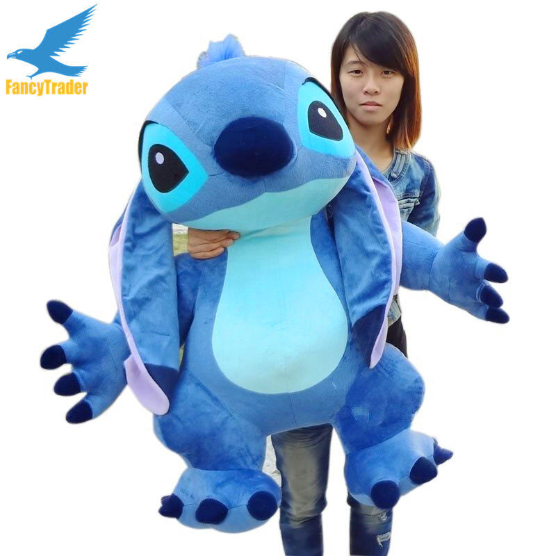 39  Giant Huge Big Lilo & Stitch Toy Stuffed Plush Soft Doll X'mas Gift 100cm