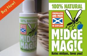 100/% naturel Midge Répulsif Moustique Midge Magic