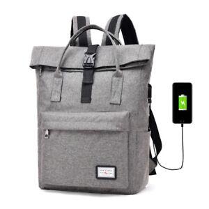 Image is loading Women-Laptop-Backpack-Mens-School-Bag-Large-Capacity- 482bd57c932e5