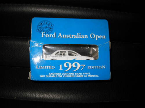 MATCHBOX 1//64 FORD FALCON 1997 FORD AUSTRALIAN OPEN TENNIS LTD ED OLD STOCK