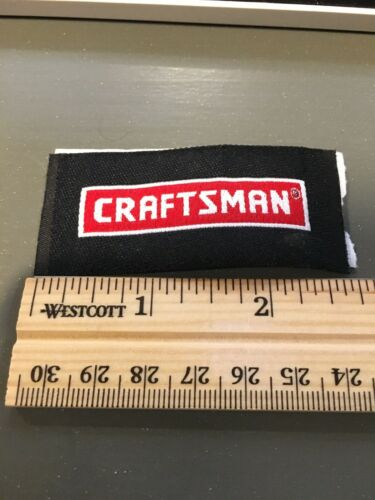 Craftsman Tools Racing Automotive Garage 1 Embroidered Patch Great Feedback