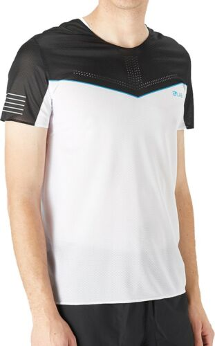 Salomon S-Lab Sense Short Sleeve Mens Running Top White