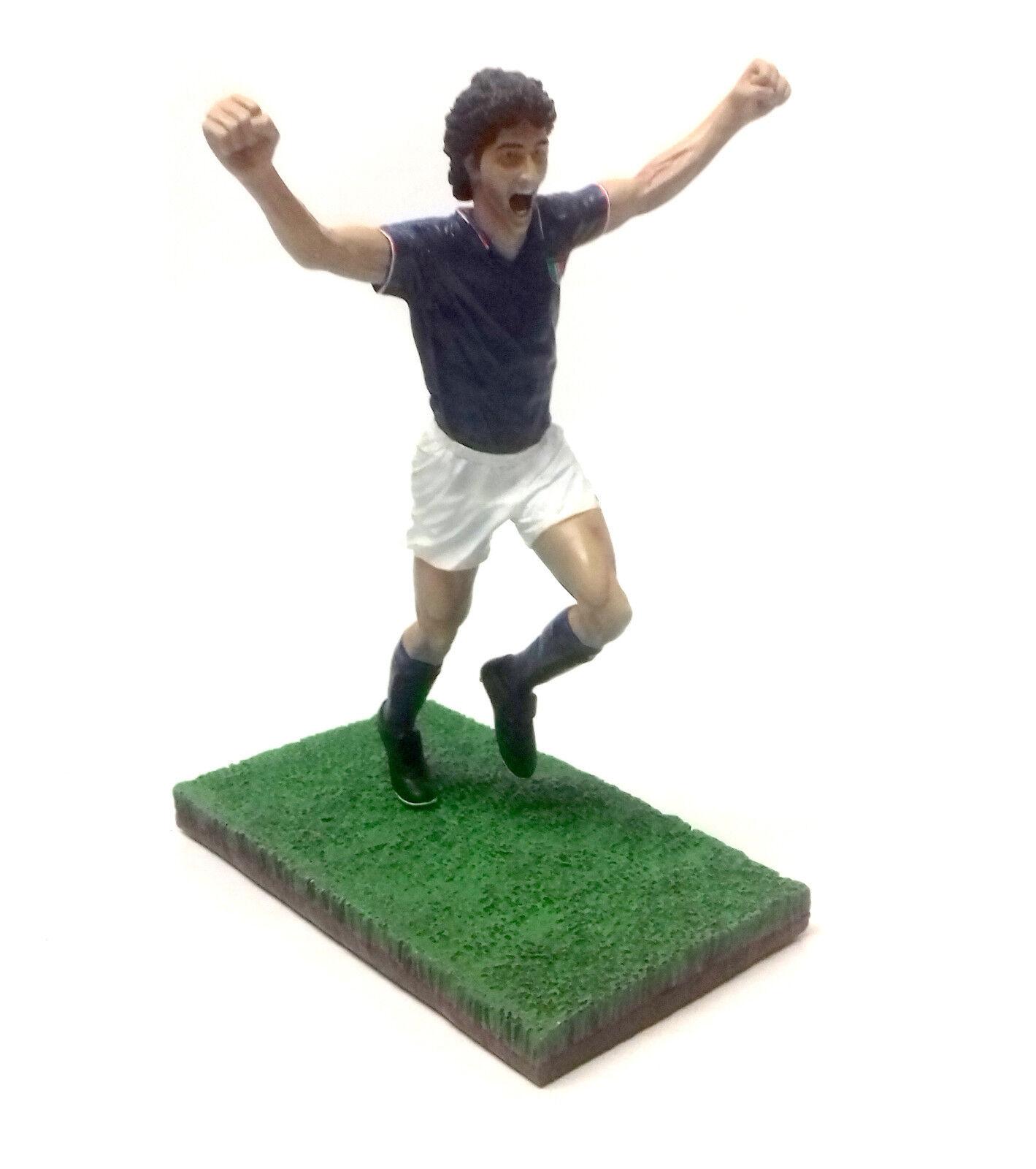 Fanatico Football 1 9 Figura RESINA Statua Sport Paolo Rossi d'Italia, coppa del mondo