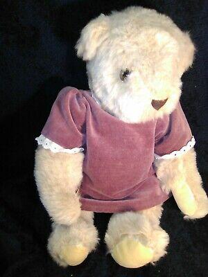 Light Purple Fabric Teddy Bears Fur For Teddy Bear Making 61x 18 155cm x 48cm