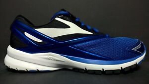 4ee055f33f4 Brooks Men s Size 10 Launch 4 Running Shoes 110244 1D 486 Blue Black ...