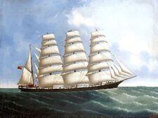American Clipper Lynton Veliero Foto Poster Art Ocean BARCHE STAMPA A3