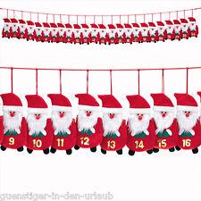 Adventskalender Kalender Nikoläuse zum Selbstfüllen Weihnachten 2,0m B-Ware