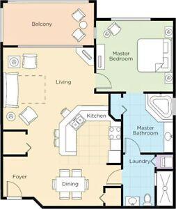 Wyndham Bonnet Creek Vacation Rental 1 Bedroom Disney World Orlando Fl Anytime Ebay
