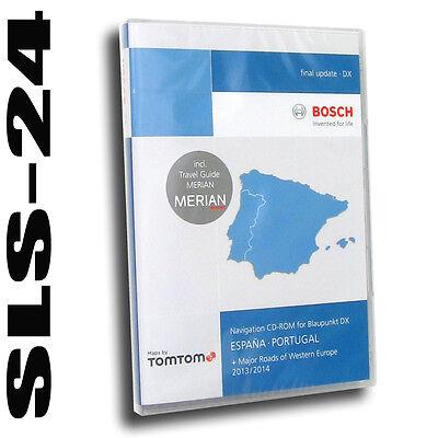 Tele Atlas Navi Software CD España Portugal Blaupunkt travelpilot DX 2013 2014