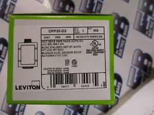 120//230//277 VOLT OCC SENSOR POWER PACK LEVITON OPP20-D2 NEW