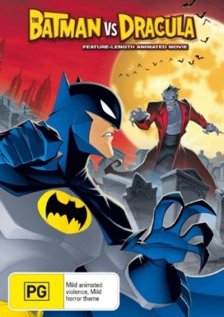 Batman VS Dracula DC Region 4 DVD VGC