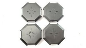 *SET OF 4* RZR WHEEL TIRE RIM HUB CAP COVERS - *NEW* - RZR 900 RZRS XP XP4 TURBO