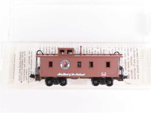 N Scale MTL Micro-Trains Kadee 51050 NP Northern Pacific 34/' Caboose #1653