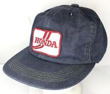 51a3ee450c35e item 5 Vtg 80s Hat Denim Snapback Patch Cap Honda Racing Company Logo  Motorcycle Car -Vtg 80s Hat Denim Snapback Patch Cap Honda Racing Company  Logo ...