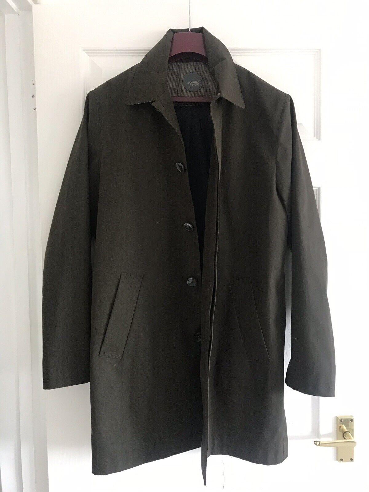 Men's Brown Khaki Overcoat Mac