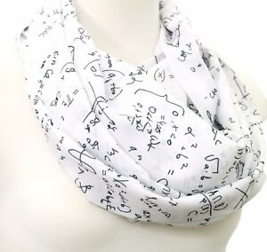 Image Is Loading Handmade Math Scarf Birthday Gift For Her Anniversary