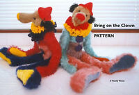 "Mohair ""Bring on the Clown""  Teddy Bear PATTERN by Neysa A. Phillippi"