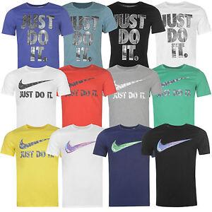 3c9f5ec218d2ab Nike Herren T-Shirt Shirt Swoosh Tee Freizeit Baumwolle NEU S-2XL ...