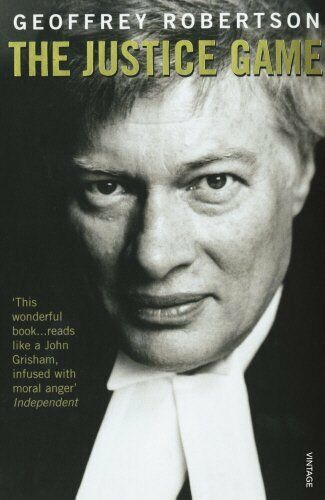 1 of 1 - GEOFFREY ROBERTSON ____ THE JUSTICE GAME ___ BRAND NEW ___ FREEPOST UK